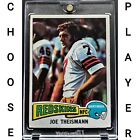 1975 Topps Football  - Pick A Player - Cards 1-501  NM++ $2.81 CAD on eBay