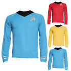 Adult Star Trek Enterprise Captain Kirk Shirt & Top New Fancy Dress Costume Mens on eBay