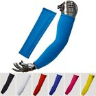 Unisex Women Cooling Arm Sleeves Non UV Outdoor Summer Sports Sun Protect Covers