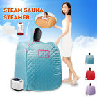 Foldable 2.68L Home Spa Steam Sauna Tent Full Body Loss Weight Detox Therapy