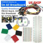Kyпить Breadboard MB-102 Power Supply 65Pcs Jumper Cables Wires 170 400 830 Tie Points на еВаy.соm