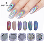 Holographic Nail Glitter Powder Dust Silver Gold Nail Pigment Shiny Nails Design