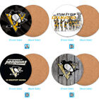 Pittsburgh Penguins Wood Coaster Cup Drink Mat Pad Placemat Tea $3.99 USD on eBay