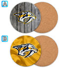 Nashville Predators Wood Coaster Cup Drink Mat Pad Placemat Tea $3.99 USD on eBay