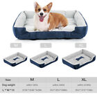 Dog Bed Memory Foam Large Thick Pet Mat for 36in 42in Dog Cage House Floor Q3C3