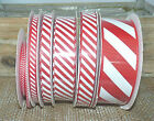1METRE  WIRE EDGE JUTE FLOCK & GLITTER PATTERN RIBBON  63MM WIDE# CRAFT  S