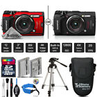 Olympus Tough TG-5 Digital Camera Black Or Red + Extended Warranty
