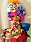 Rainbow Joy ooak monster high doll handmade custom doll repaint