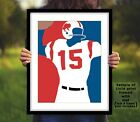 JACK KEMP Buffalo Bills Photo Art in 8x10 or 11x14 - AFL Football Picture Print on eBay