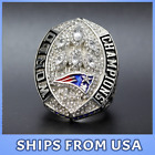 FROM USA - NEW ENGLAND PATRIOTS 2018-2019 Official Ring Championship - TOM BRADY <br/> Super Bowl LIII, PREMIEUM QUALITY, BEST GIFT, All Sizes