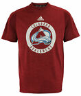 adidas NHL Men's Team Logo Training Tee, Colorado Avalanche $22.5 USD on eBay