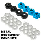 4pcs 12mm To 17mm Hex Wheel Adapter Extension (5mm) For 1/10 1/8 Rc Car Parts Us