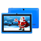 7'' inch Android6.0 Kids Tablet Quad Core HD Dual Camera WiFi 1GB+16GB Kids Gift