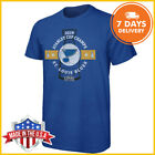 St. Louis Blues 2019 Stanley Cup Champions Come Prepared T-Shirt Blue S-5XL Tee $11.99 USD on eBay