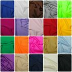 Soft Touch Jersey Lycra 4 Way Stretch Fabric Dressmaking Spandex 150 cm wide