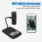 1000X Digital Wifi Microscope Magnifier Camera for iPhone Samsung Android IOS