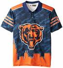 Klew NFL Chicago Bears Men's Short Sleeve Thematic Polo Shirt $39.99 USD on eBay