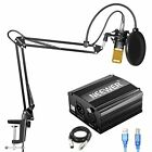 Neewer NW-800 Condenser Microphone Kit with USB 48V Phantom Power Supply, NW-35