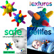 Baby Teether Ball [2 Pack] Music Bell Rattle Teething Toy – Soother Dental Tooth