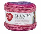 Red Heart It's a Wrap Yarn 4 oz 623 Yards - Color Variety