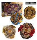 Beyblade Burst XD168-22A/B Limited Edition Gold with Battle Disk Beyblade Suit