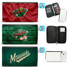 Minnesota Wild Leather Travel Wallet Passport Organizer Holder Card $15.99 USD on eBay