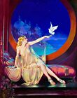 Sultana by American Artist Henry Clive. Fantasy Repro Choose Canvas or Paper