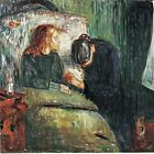 The Sick Child by Norwegian Edvard Munch. Life Art Repro Choose Canvas or Paper