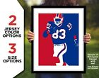 ANDRE REED Buffalo Bills Photo Picture Football Print Wall Art in 8x10 or 11x14 $6.95 USD on eBay