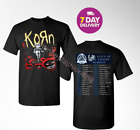 Korn and Alice In Chains t Shirt North American Tour 2019 T-Shirt Size Men Black image