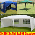 3x3m 3x4m 3x6m Gazebo Waterproof Fully Garden Canopy Tent With Sides Wall Cheap