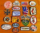 VTG 70s Embroidered Biker Outlaw Motorcycle Sew-On Patch $15.0 USD on eBay