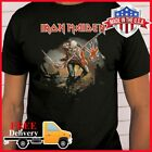 FREESHIP IRON MAIDEN T-Shirt Band Music The Trooper T Shirt Black S-6XL Limited