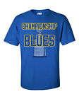 Championship Blues Graphic T Shirt St. Louis Blues 2019 NHL Stanley Cup $19.99 USD on eBay