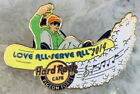 "Hard Rock Cafe Pigeon Forge 2014 Snowboarder W / "" Love All Serve "" Pin#81344"