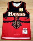 Dikembe Mutombo #55 Atlanta Hawks 1996-97 Throwback Jersey
