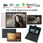 10.1'' Tablet PC Android 6.0  Dual SIM HD 1080P 4GB RAM 64GB ROM WI-FI