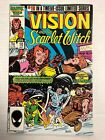 The Vision And The Scarlet Hexe #10 Comicbuch Marvel 1986