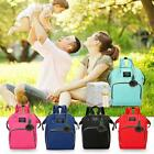 Solid Color Mommy Maternity Travel Backpacks Big Baby Nursing Diaper Bags Large