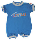 NHL Hockey Boys Girls Infant Washington Capitals Crew Neck Romper, Blue $7.99 USD on eBay