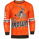 NFL Men's Cleveland Browns Jim Brown #32 Retired Player Ugly Sweater $49.99 USD on eBay