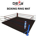 DEFY PROFESSIONAL BOXING RING MAT HEAVY DUTY CANVAS COVER MMA JUDO