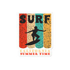 SURF California Summer Time Vintage Retro Bubble-free stickers