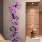 3d Flower House Wall Stickers Vinyl Decal Mural Home Living Room Decor Removable