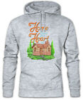 Home Is Where Your Heart At Hoodie Kapuzenpullover Gamer Gaming House Heim Haus