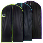 """Hangerworld™ 40"""" Black Suit Cover with Coloured Trim Polyester"""
