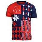 FOCO MLB Men's Boston Red Sox Busy Block Ugly Crew Neck Tee on Ebay