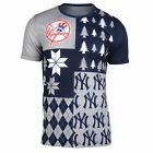 FOCO MLB Men's New York Yankees Busy Block Ugly Crew Neck Tee on Ebay
