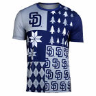 FOCO MLB Men's San Diego Padres Busy Block Ugly Crew Neck Tee on Ebay