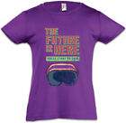 The Future Is Here Kinder Mädchen T-Shirt Gamer Gaming Games Pixel VR Brille